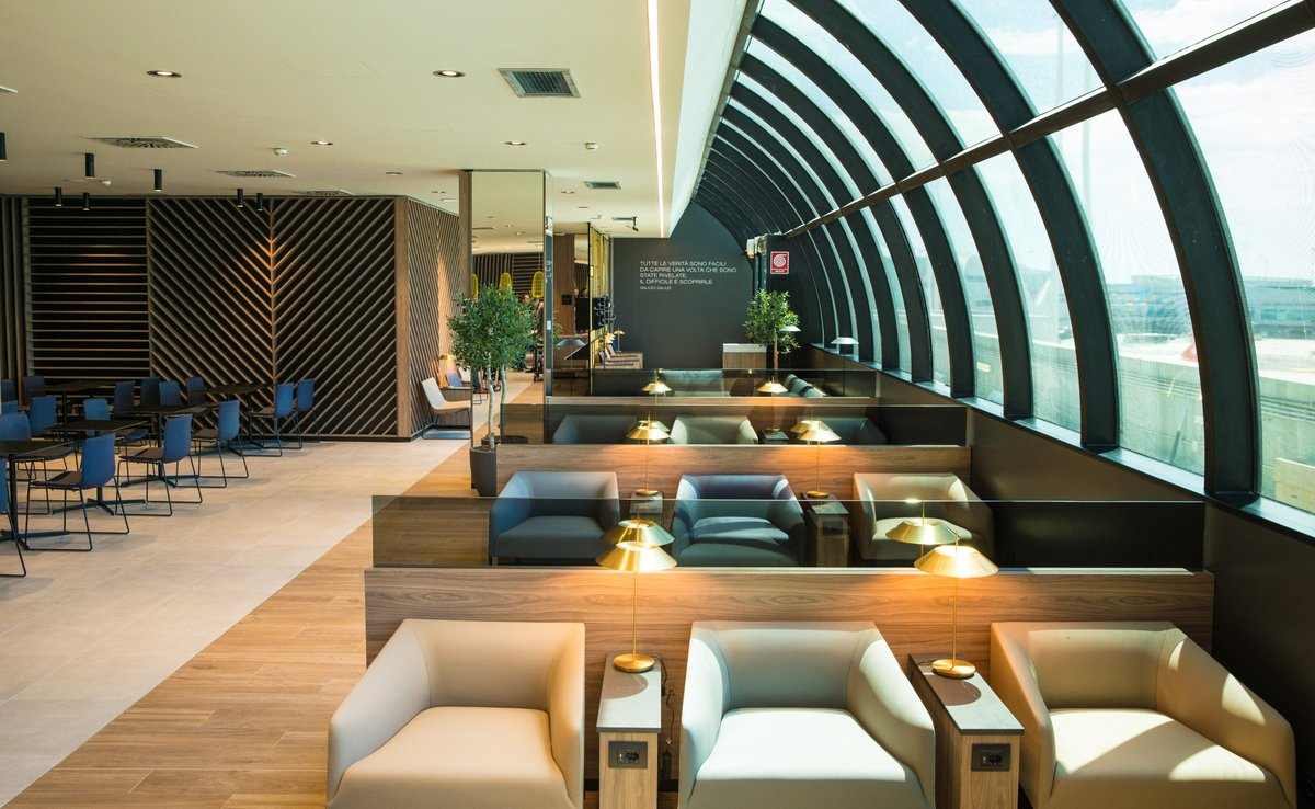 Star Alliance Lounge Rome