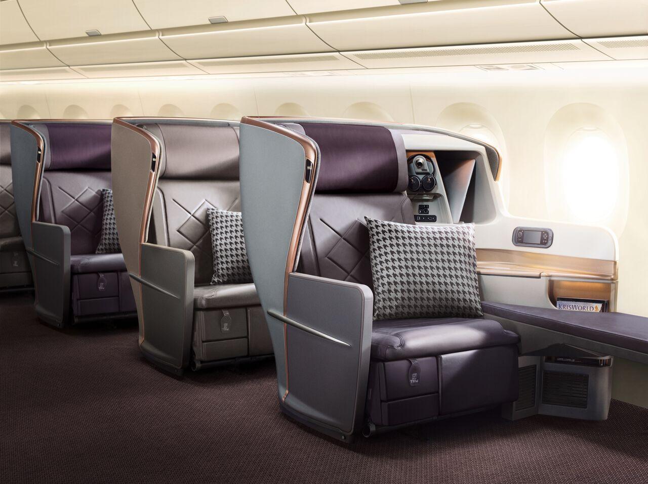 Singapore A350ULR Business Class