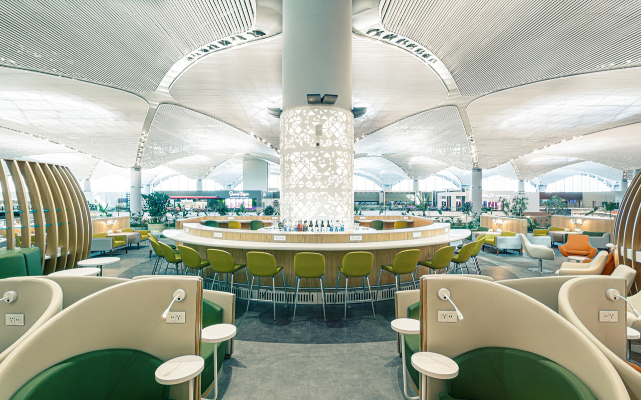 SkyTeam Lounge Istanbul