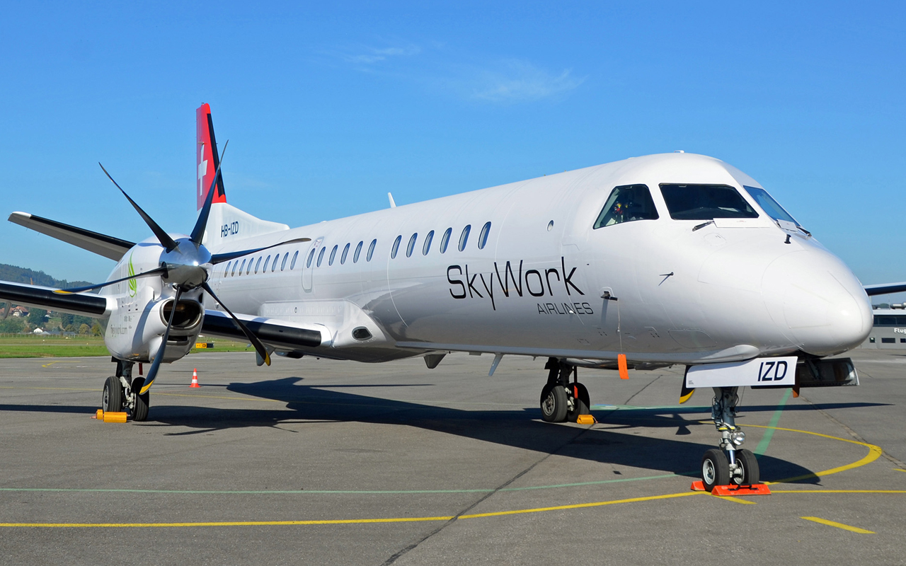 Sky Work Airlines Saab 2000