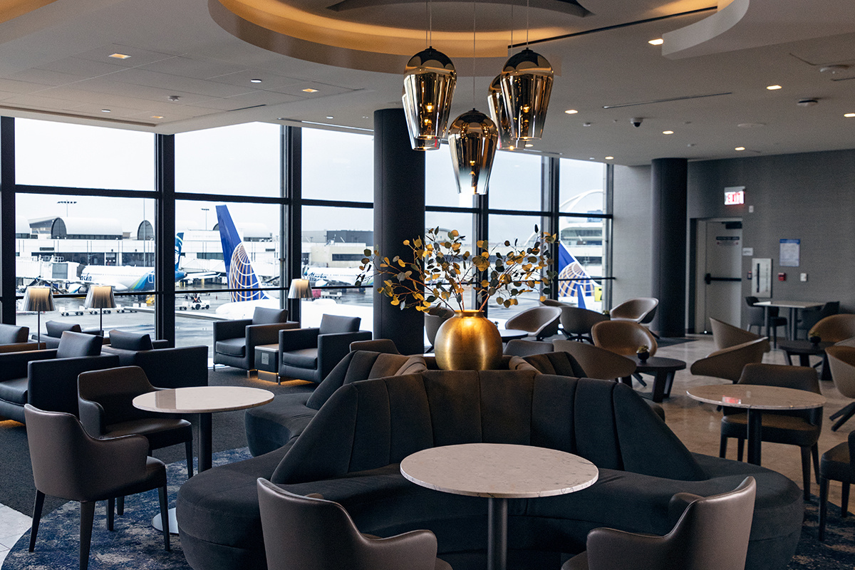 United Polaris Lounge LAX