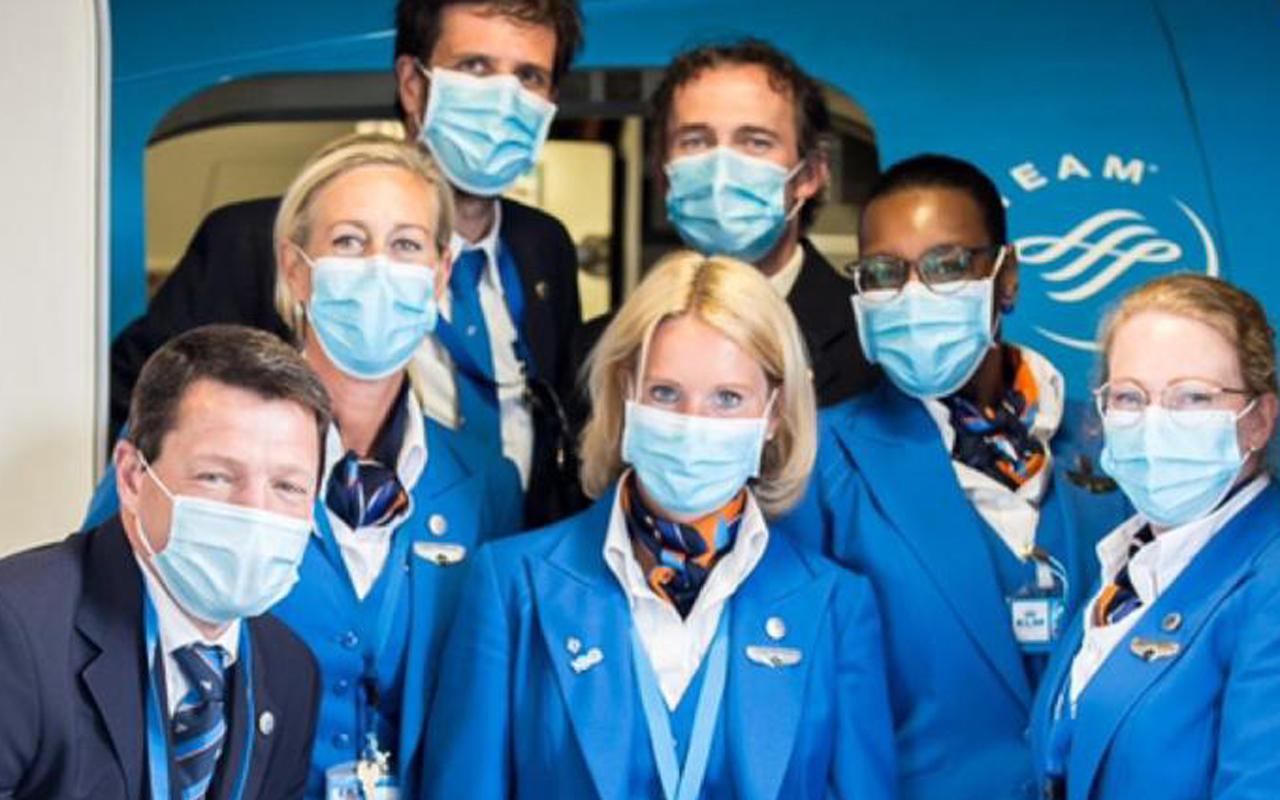 KLM Elbers bemanning
